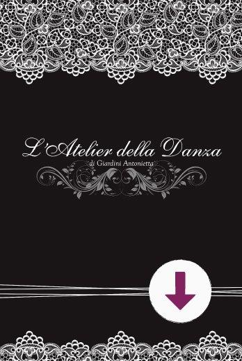 Copertina catalogo prodotti download Atelier della danza